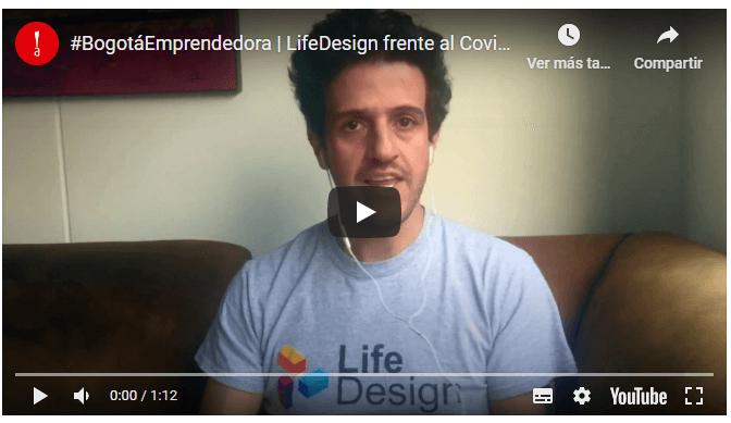"Life Design presente en ""Bogotá Emprendedora"" de Invest in Bogota"