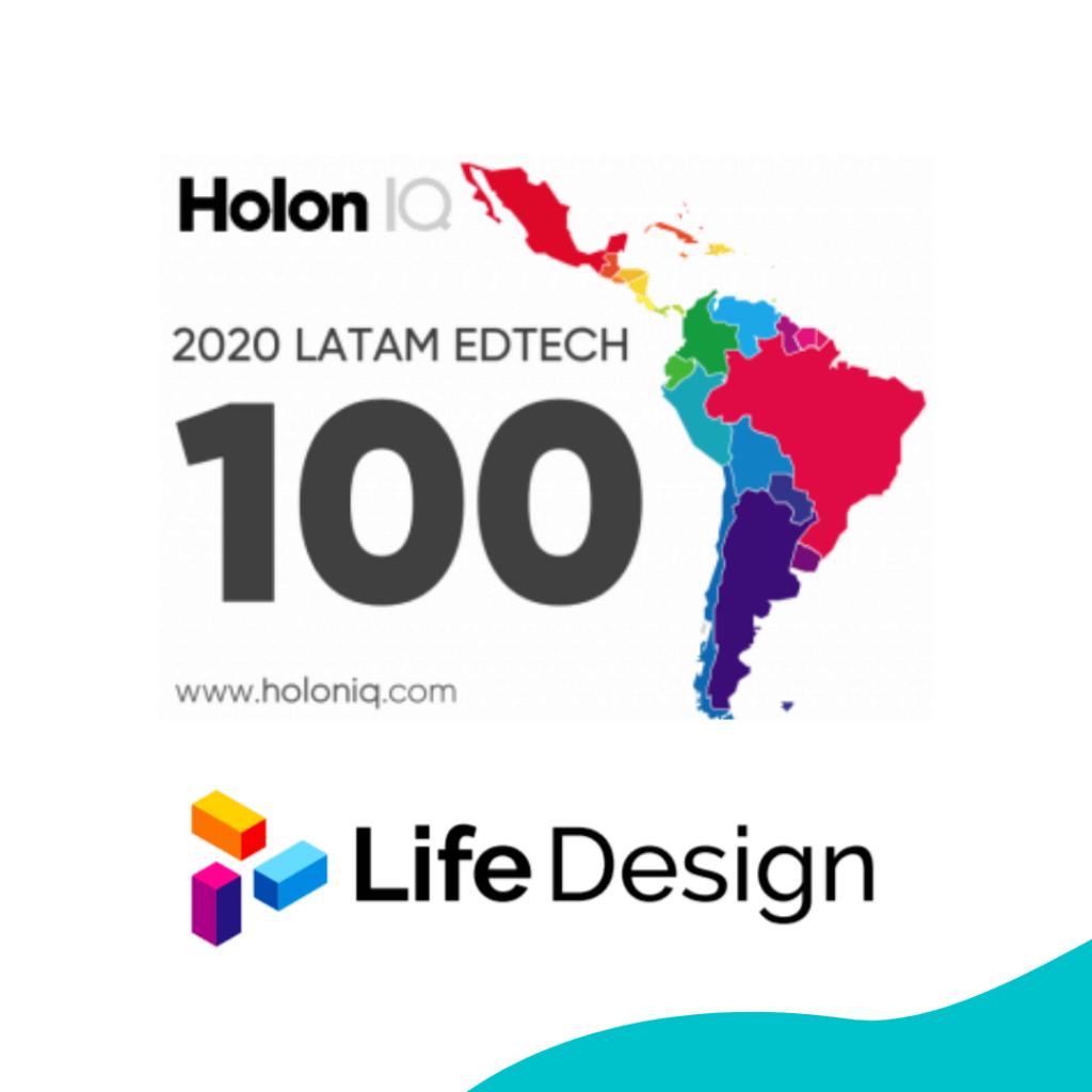 Life Design es una de las 100 EdTech más innovadoras