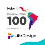 Life Design es una de las 100 EdTech más innovadoras de la región